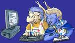 April 09: Fanfic Illustrations by ekkapinto-MGC