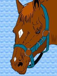 Happy horse by enriquetezuka