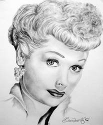 Lucille Ball by BranTheDon