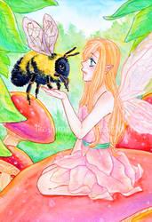 Fairy (SPEEDPAINT) by Ika-Hime
