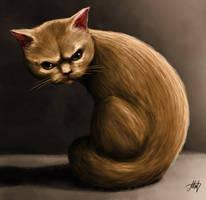 Bad Kitty by Fenris-V