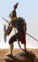 Desert Orc by Fenris-V
