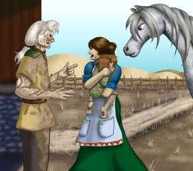 Riana Angry by girl-n-herhorse
