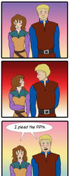 Rysta and Calaen - What they like about each other by girl-n-herhorse