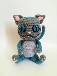 Cheshire cat - Alice in wonderland by Kichigurumi