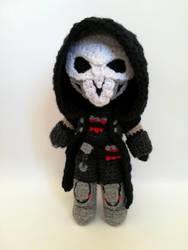 Reaper amigurumi by Kichigurumi