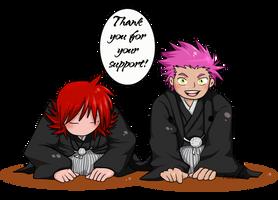 Thank you by Aosuka