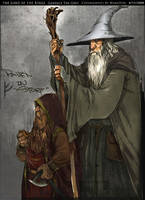 Gandalf The Grey by Wangyuxi