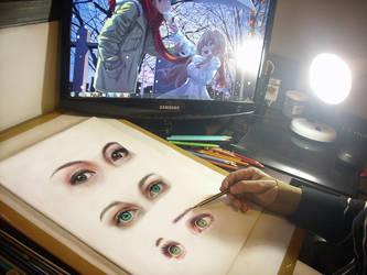 Eyes by leidanogueira