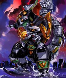 Special: Dragonzord by hinomars19
