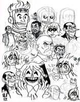 DC Doodles by Rynan5