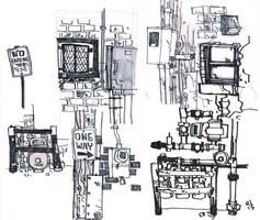 City Doodles by Rynan5
