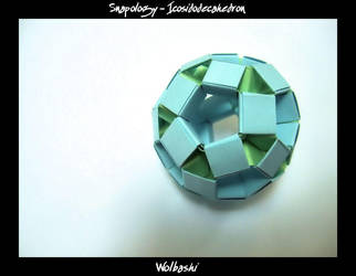 Snapology - Icosidodecahedron by wolbashi