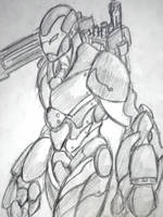 NotSoMovieLooking War Machine by aryastark2792
