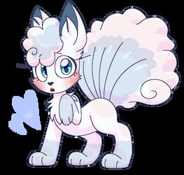 icey lil fox bab by Keewifnaf