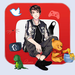 Danisnotonfire by SkullDead