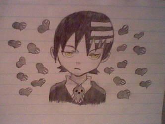 Attempted To Draw Death The Kid By Xxkawaiibakaxx On Deviantart