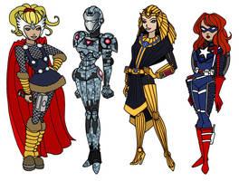 Kid Avengers by Christian-Lee