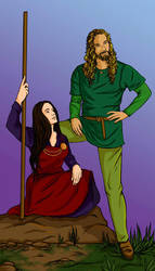 Frey and Gerd by gpalmer
