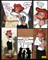 Extremely Goofy Movie Sylvia Marpole Sneezing, 2 by MocksingBird