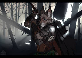 [com] Burned Wood by metriaus