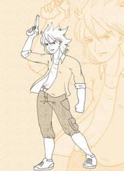 character design Kyoji by heglys