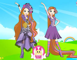 Spring Unsprung Holly O'Hair Dress Up by heglys