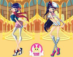 Winx Club Musa Season 5 Dress Up by heglys