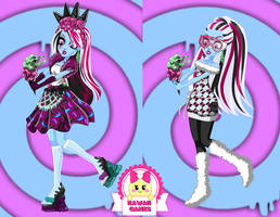 Monster High Sweet Screams Abbey Bominable Dressup by heglys