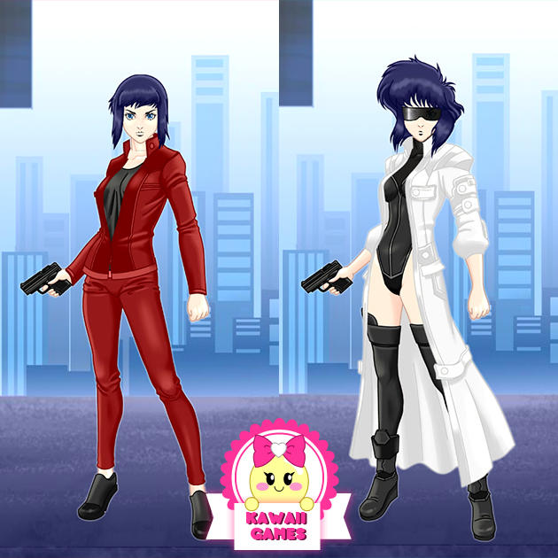 Ghost in the Shell Major Motoko Kusanagi Dress Up by heglys