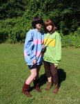 Frisk and Chara Cosplay 1/ idk by SuperBecky