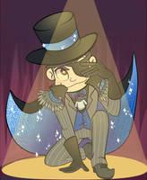 Phantom Thief Karamatsu by CrescentMarionette