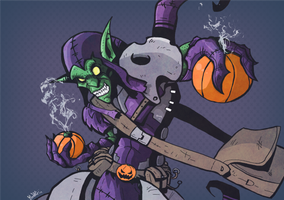 Green Goblin by PaperMoon92