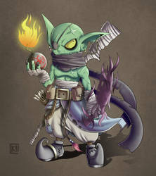Ib Shorteye - My Dungeons e Dragons Character by PaperMoon92