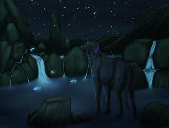 Lunar Fish by Rigbarddan