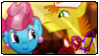 The cakes - Stamp by A-Ponies-Love