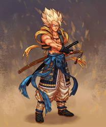 Samurai Gogeta by kenji893