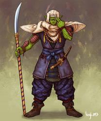 Samurai Piccolo by kenji893
