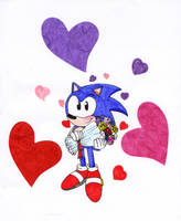 Romantic Sonic by Miki2983