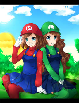 Super Sisters Forever by jollyrose