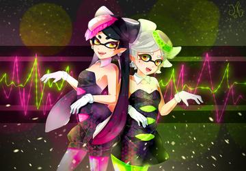 Squid Idols by jollyrose