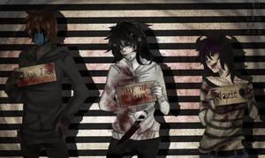 [OC| Creepypasta]  Jeff, Jack and Nazir by KorikoMewGean