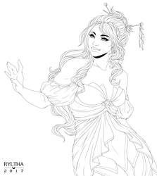 Wild Magic / Lineart by Ryltha