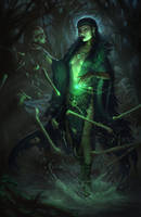 Swamp Witch by EmmanuelMadailArt