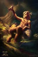 WAR OF THE GODS - Satyr by EmmanuelMadailArt