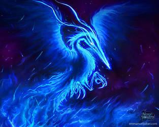 Force Phoenix by EmmanuelMadailArt