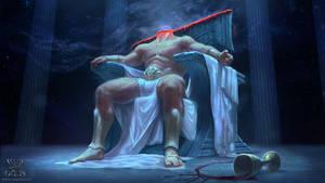 The King is Dead by EmmanuelMadailArt