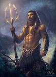 Poseidon by EmmanuelMadailArt