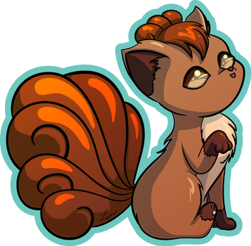 Vulpix by LilyOfTheSword