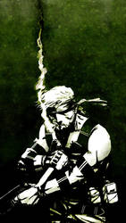 Solid Snake by CptFury